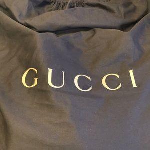 Gucci leather tote